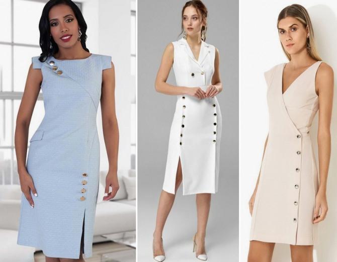 изысканные платья пастельных тонов для летней работы в офисе