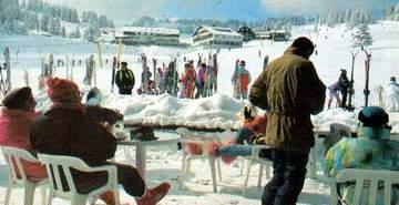 Один из самых популярных зимних курортов - Улудаа, г.Бурса