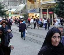 Турчанка, турецкая женщина