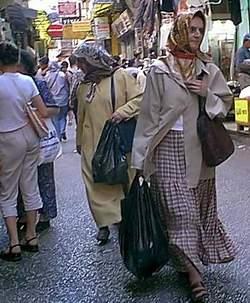 Турецкие женщины. Одежда турчанок