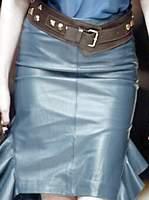 Молодежный женский деловой костюм