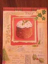 Рождественская английская открытка