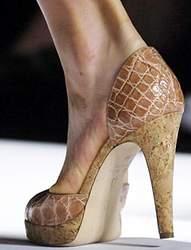 Туфли под крокодила