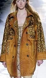 Отделка из леопарда