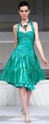 Для выпускного бала модные платья для