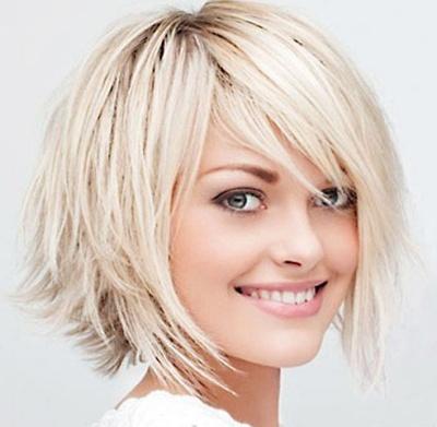 фото коротких причесок на кудрявые волосы