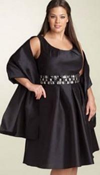 Модели вечерних платьев для полных женщин и девушек