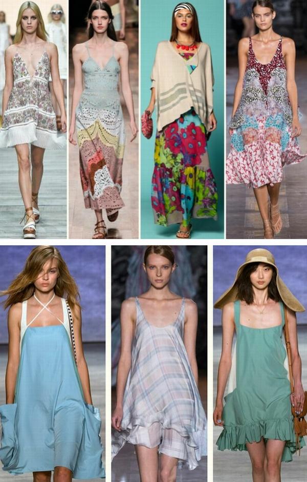 Фото всех фасонов сарафанов и платьев