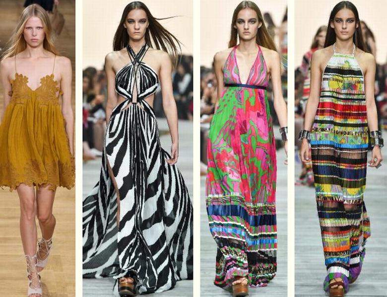 модели и выкройки модных платьев