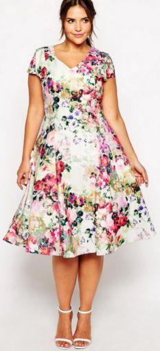Платье для полных модные купить