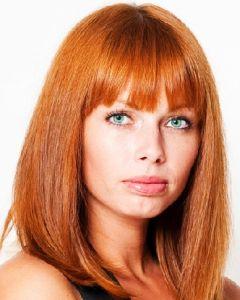 Рыжие волосы стрижки