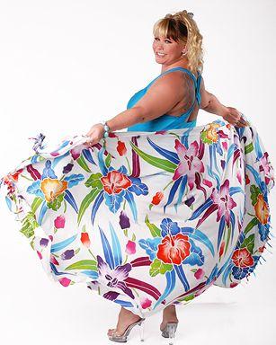 Модные летние купальники 2014 для полных [фото]