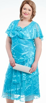 Летняя одежда больших размеров. Модные летние фасоны для полных девушек и женщин