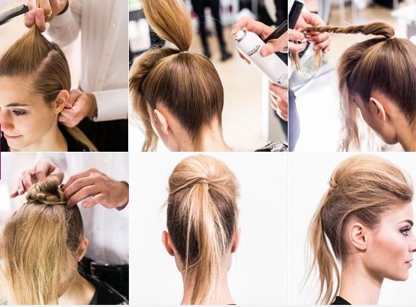 Причёска для тонких волос