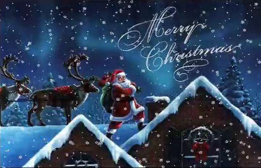 Виртуальные открытки на католическое рождество