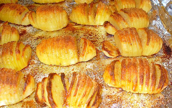 Картошка с сыром по-шведски