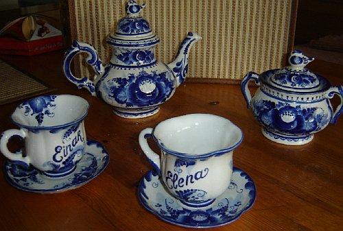Чайный сервиз к свадьбе