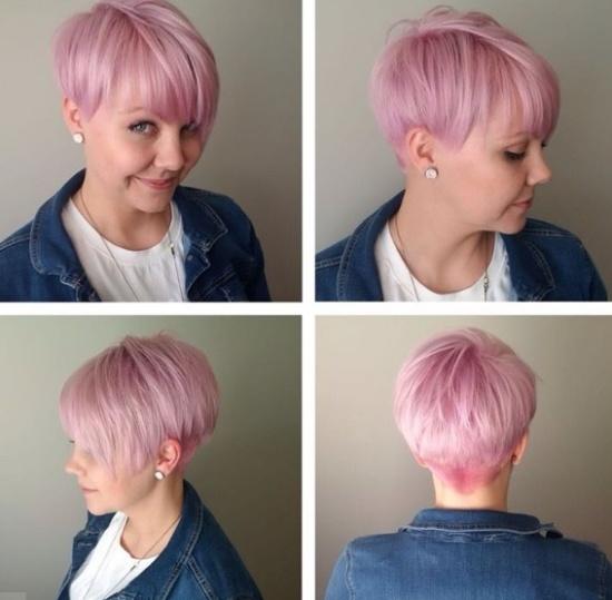 пикси на розовые волосы