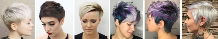 Стрижка пикси - новые ультрамодные варианты для коротких женских волос с челкой на лето 2017 - фото