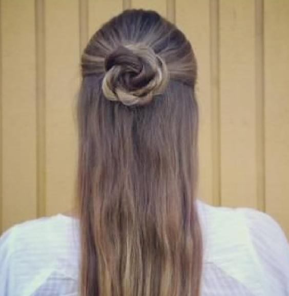 Прическа из косичек пошаговое фото