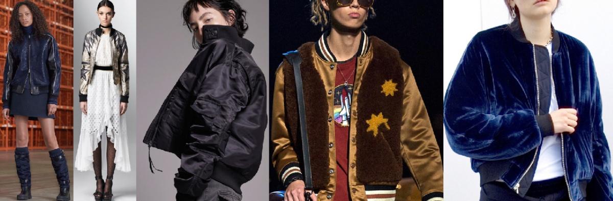 Как выглядит модная куртка бомбер сезона осень 2017
