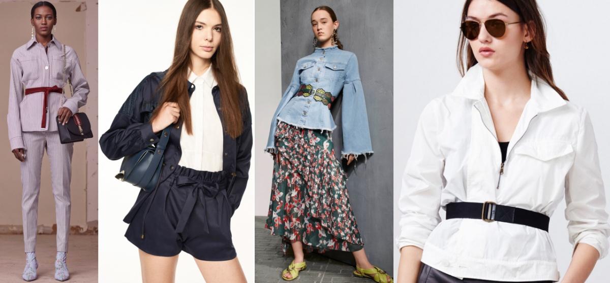 Куртки-рубашки - модный тренд осени 2017