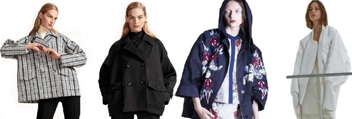 женские куртки оверсайз - новинки моды 2017 года весна