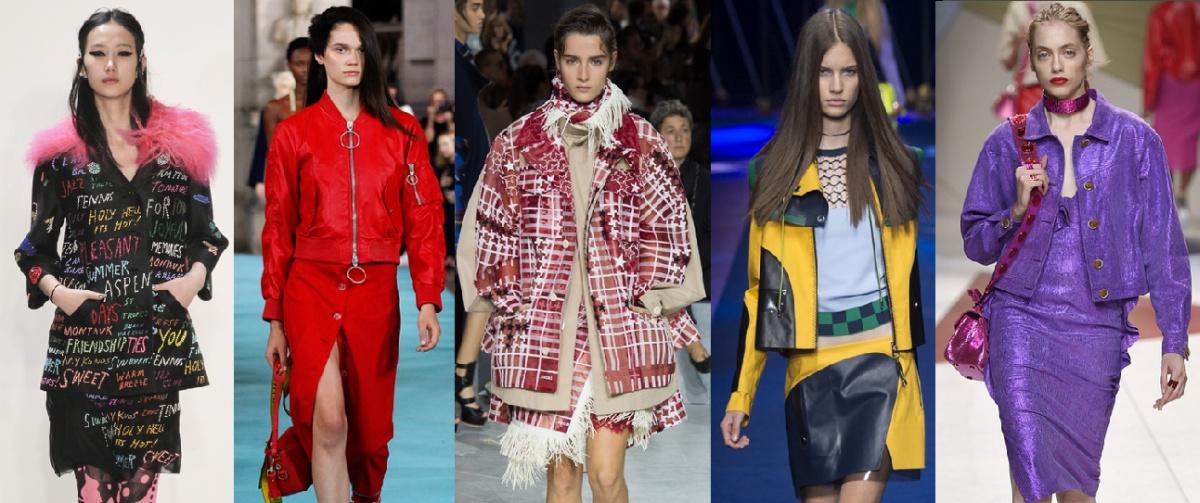 модная осень 2017 - комплекты куртка плюс юбка
