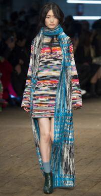 платье-свитер в этническом стиле
