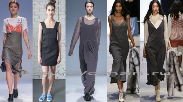 Модные одежда сарафаны