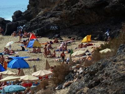 Секс ок на нудистском пляже