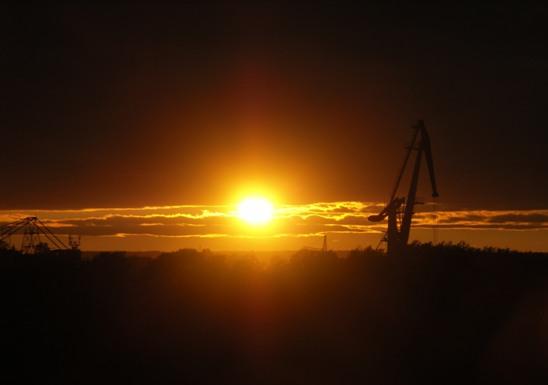 8 августа восход: