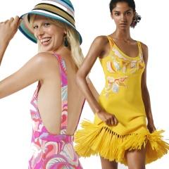 Отпускной курортный женский гардероб 2018/2019 от бренда Эмилио Пуччи - фото из новой коллекции