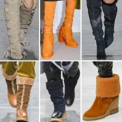 Зимние женские сапоги и ботинки Осень-Зима 2018 2019 - новинки мировых брендов