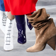 Какие женские сапоги, ботильоны, ботинки модные осенью 2018 года