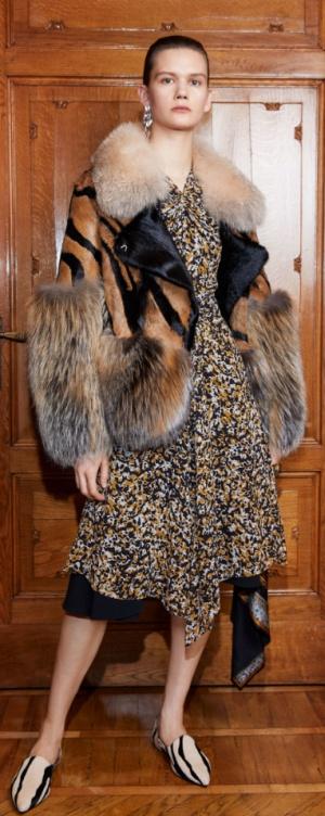 Зимняя женская мода 2018-2019