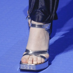 Обувные тенденции летней моды 2018 - форма, каблук, носок, цвет, ткань, аксессуары