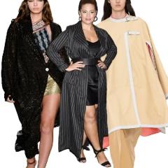 Модная верхняя весенняя одежда для полных на сезон Весна 2018: пальто, полупальто, плащи - фото новинок