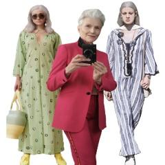 Платья и костюмы для пожилых женщин на Весну-Лето 2018