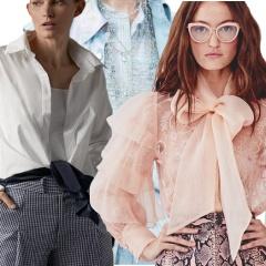 Модные блузки и женские рубашки Весна-Лето 2018 - фото и разбор трендов с модных показов