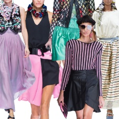 Модные юбки Весна-Лето 2018 - тенденции и фото