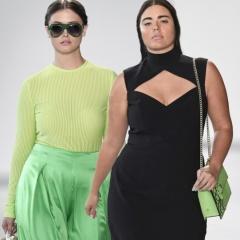 Мода для пышек 2018. Повседневные, праздничные, офисные наряды 2018 для пышек - фото новинок с модных показов