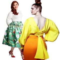Фото полных девушек в красивых юбках - мода весна-лето 2018