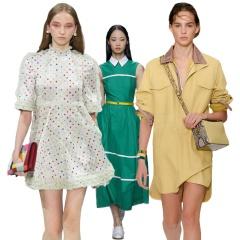 Летние офисные платья - дизайнерские идеи деловых платьев на лето 2018 года, фото
