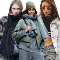 Зимняя уличная мода. Модные образы для снежных дней