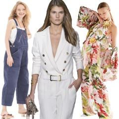 Модные женские комбинезоны Весна-Лето 2018 - деловые и нарядные - фото