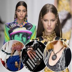 Модные женские аксессуары и украшения Весна-Лето 2018 - тренды, фото
