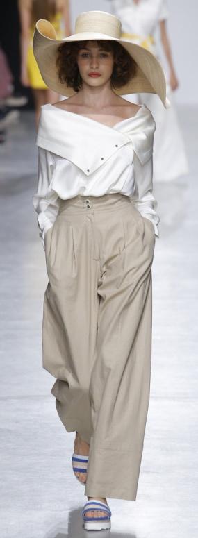 Летняя женская мода 2018