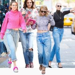 Модные женские джинсы 2018: тенденции и фото