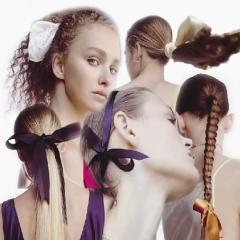 Бантики в волосах - модный аксессуар для волос на весенне-летний сезон 2018